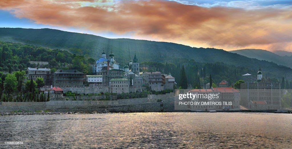 Saint Panteleimon Monastery : Stock Photo
