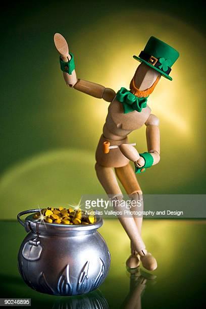 Saint Patrick Green legend