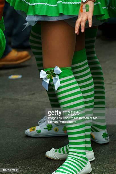 saint patricks day dublin - saint patricks tag stock-fotos und bilder