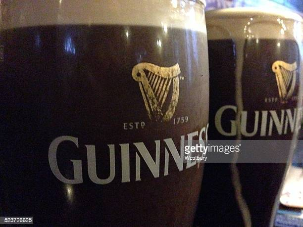 saint patrick's day - guinness stock photos and pictures