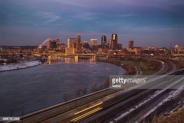 Saint Paul city view