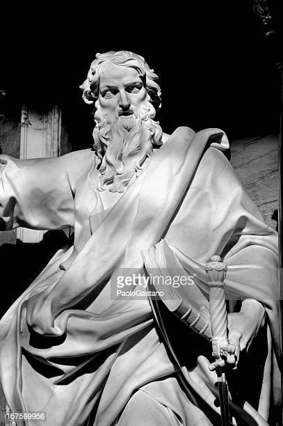 saint paul - san paolo apostolo foto e immagini stock
