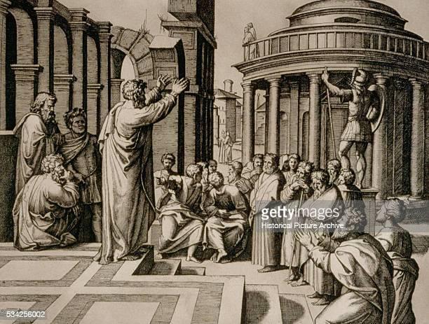 Saint Paul Preaches in Athens