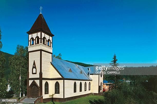 Saint Paul's Anglican Cathedral Dawson City Yukon Canada