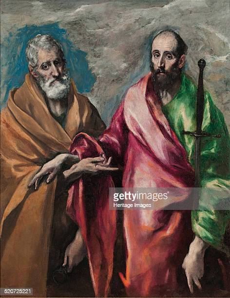 Saint Peter and Saint Paul Found in the collection of Museu Nacional d'Art de Catalunya Barcelona