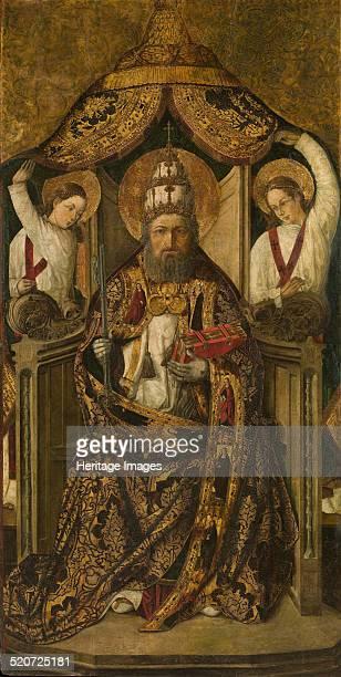 Saint Peter Enthroned Found in the collection of Museu Nacional d'Art de Catalunya Barcelona