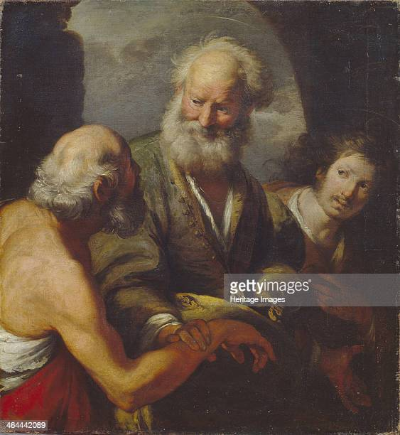 Saint Peter healing a paralytic Found in the collection of the State Art Gallery Lviv