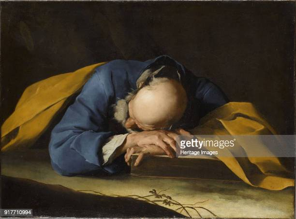 Saint Peter Sleeping Found in the Collection of Musée du Louvre Paris
