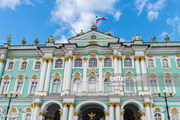 saint petersburg - russia - winter palace st. petersburg stock photos and pictures