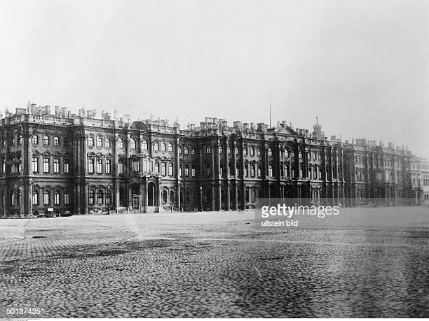 the Winter Palace probably in the 1910s Photo MKoch