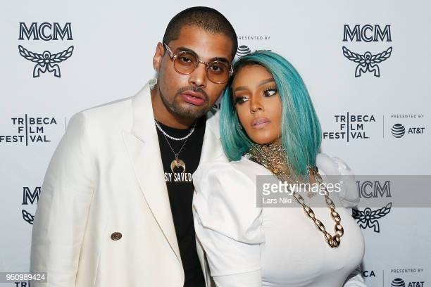 Saint Pierre and Talia Coles attend the 2018 Tribeca Studios and MCM Sneak Preview Of Women's Hip Hop At Public Hotel on April 24 2018 in New York...