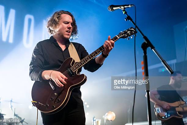 Saint Raymond performs onstage at O2 Academy Leicester on November 19, 2015 in Leicester, England.
