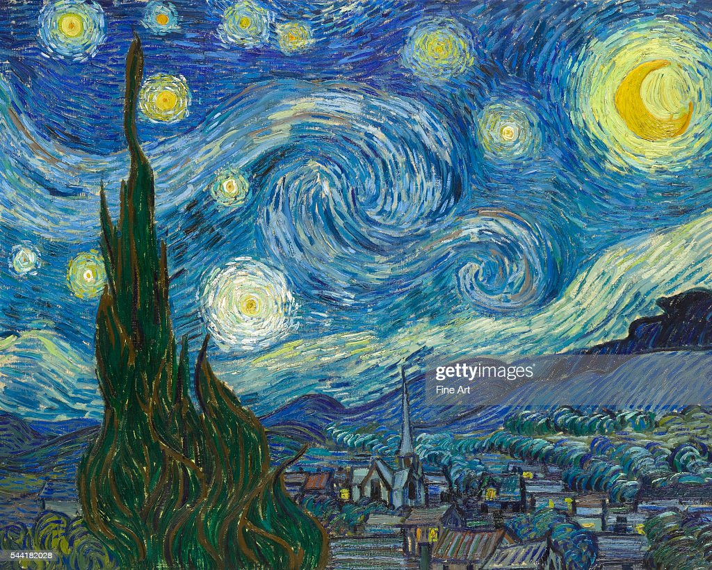 The Starry Night by Vincent van Gogh : News Photo