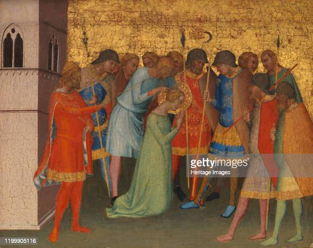 Saint Reparata Being Prepared for Execution Artist Bernardo Daddi