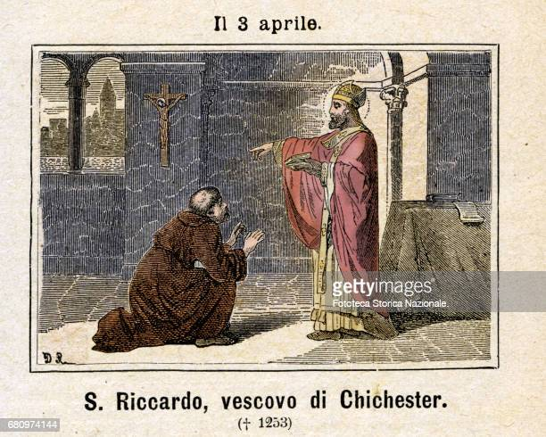 Saint Richard Chichester , Bishop. He established the Diocesan Statutes, including all provisions for celibacy and the conduct of the clergy, for the...