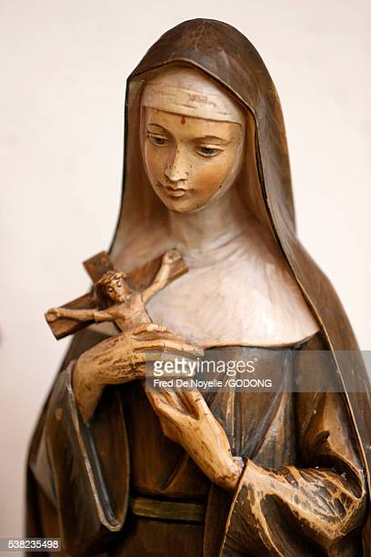 Saint Rita of Cascia. Patron Saint of the Impossible, abused wives and widows.