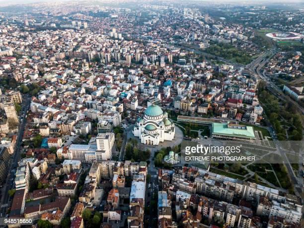 st. sava-tempel - belgrad stock-fotos und bilder