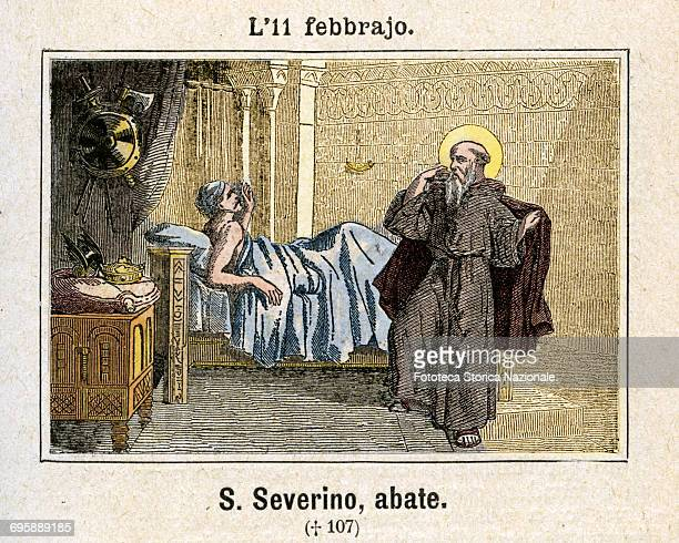 Saint Severino of Agaune the French abbot and miracle worker It happened that Clovis the first Franco Catholic king layed ill of a quartan fever for...