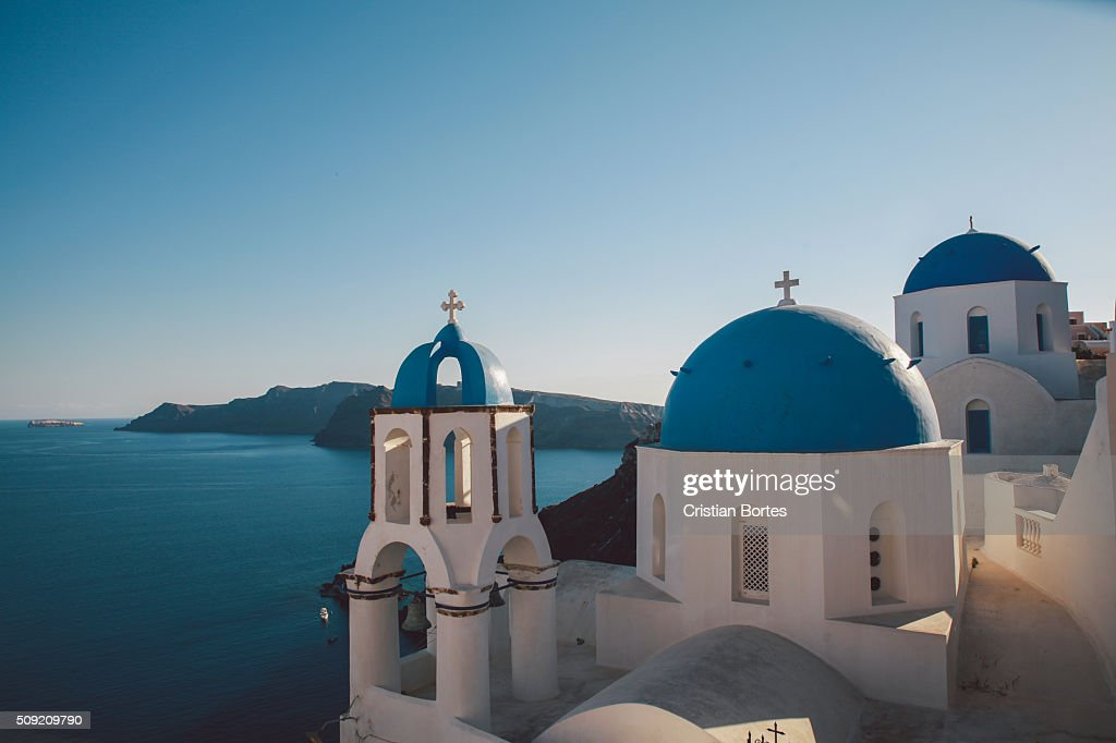 Saint Spyridon church : Stock Photo