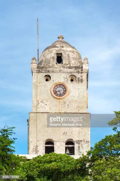 Saint St. Joseph Church Clock Tower in Holguin, Cuba
