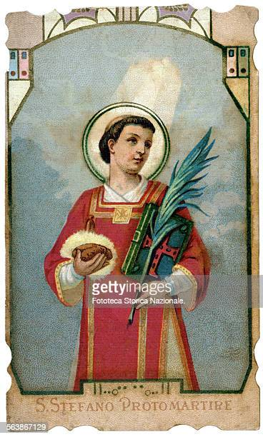Saint Stephen Levite protomartyr: the 03-08-415 a.d. Near Jerusalem are found the remains of Saint Stephen, the first Christian martyr. The Saint is...