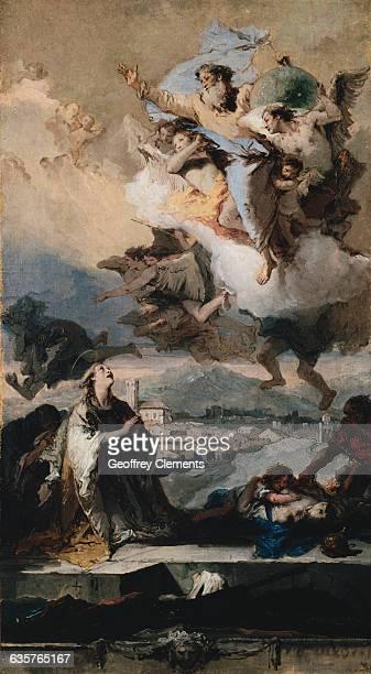 Saint Thecla Praying for the PlagueStricken by Giovanni Battista Tiepolo