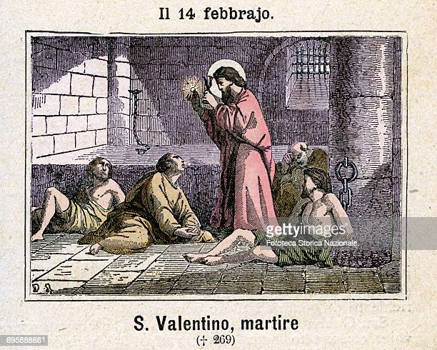Saint Valentine Bishop of Terni and Martyr According to tradition he died by beheading under Aurelian at 97 after torture He was imprisoned for...