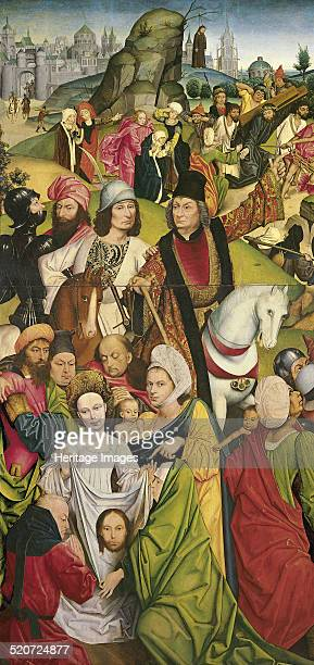 Saint Veronica and a Group of Knights Found in the collection of ThyssenBornemisza Collections