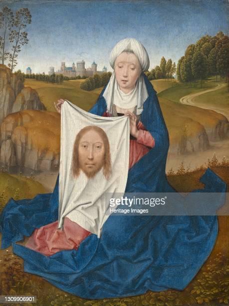 Saint Veronica [obverse], circa 1470/1475. Artist Hans Memling. .