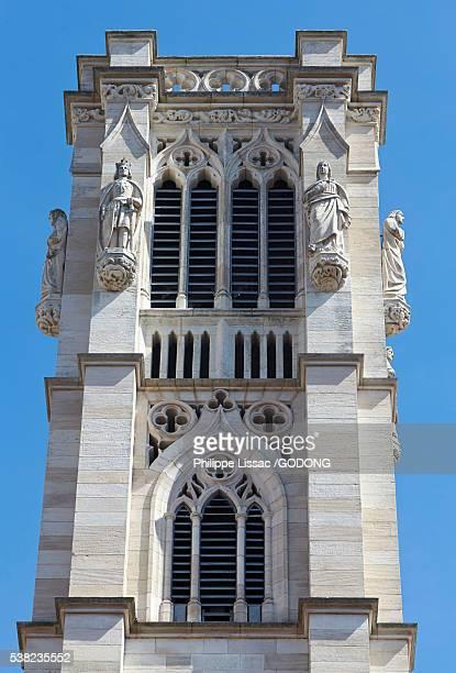 saint vincent's cathedral, chalon sur saone. - シャロンシュルソーヌ ストックフォトと画像