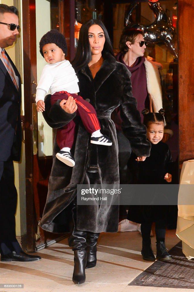 Celebrity Sightings in New York City - February 1, 2017 : News Photo