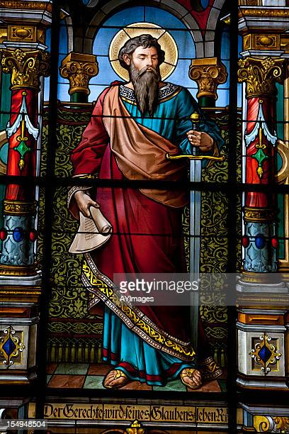 saint with sword - religious saint stock pictures, royalty-free photos & images
