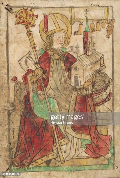 Saint Wolfgang , 15th century. Artist Casper.