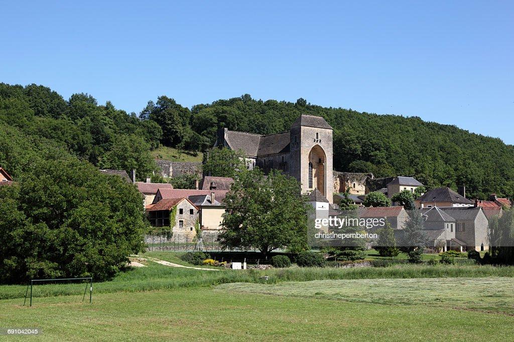 Saint-Amand-de-Coly, Dordogne, France : Stock Photo