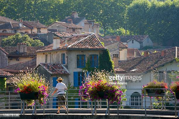 saint-antonin-noble-val, aveyron, france - aveyron stock pictures, royalty-free photos & images