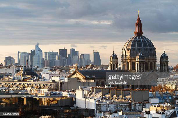 saint-augustin church dome - lagarde stock pictures, royalty-free photos & images