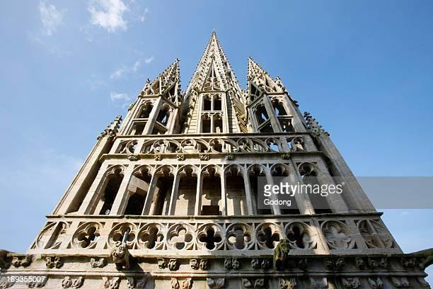 SaintCorentin cathedral squire Quimper