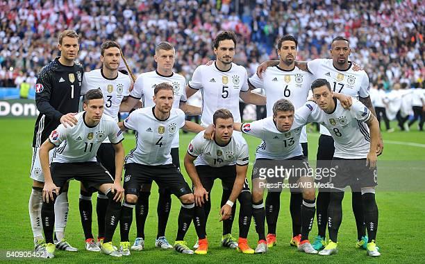 SaintDenis Football UEFA Euro 2016 group C game between Poland and Germany grupowe Manuel Neuer Jonas Hector Toni Kroos Mats Hummels Sami Khedira...