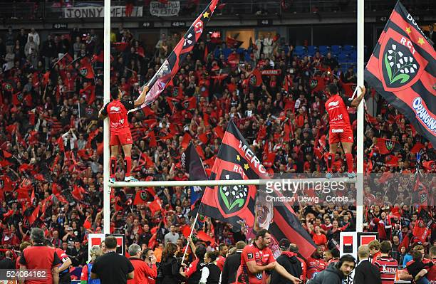 RC Toulon s Fans during the French Top 14 rugby union final between Castres Olympique and RC Toulon at the Stade de France stadium in SaintDenis...