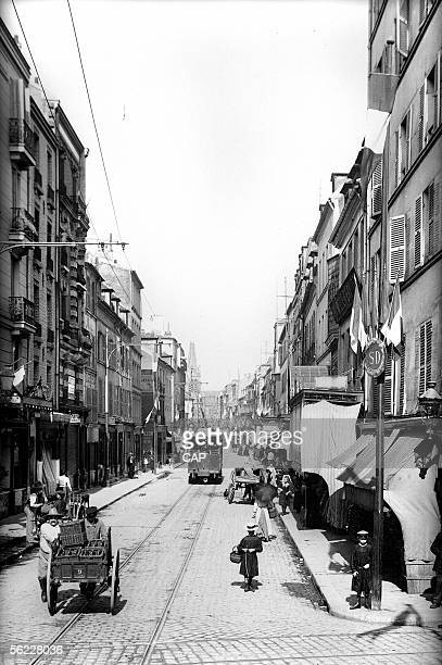 SaintDenis The street of the Republic by 1910