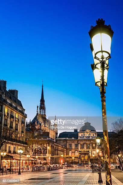 'Sainte Chapelle' in Paris