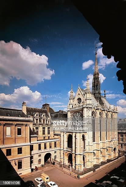 Sainte Chapelle Paris France 13th century