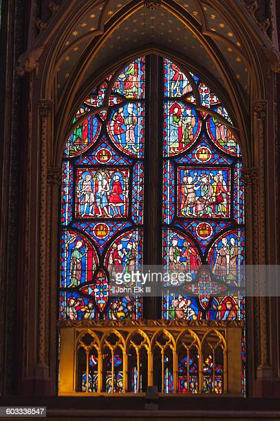 Sainte Chapelle, stained glass windows