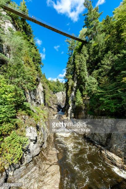 sainte-anne canyon - crawford notch stock pictures, royalty-free photos & images
