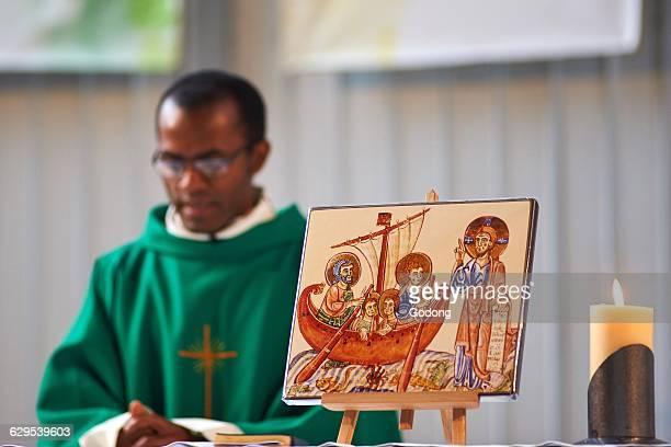 SaintEloi church Migrants' Mass