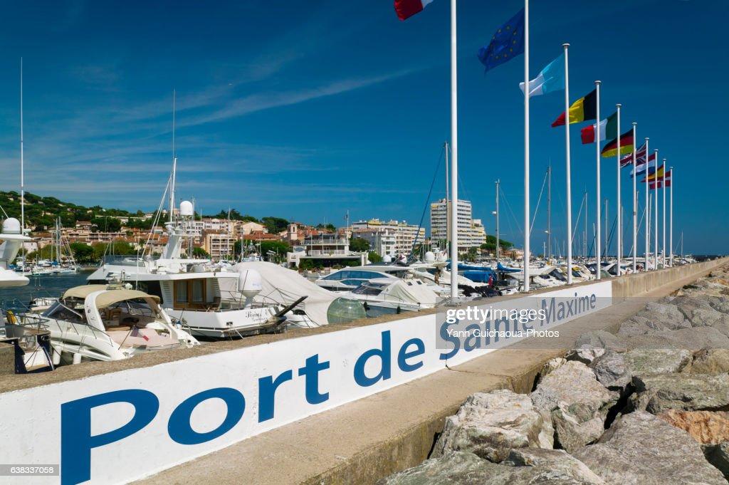 Sainte-Maxime, Var, Provence, France : Photo