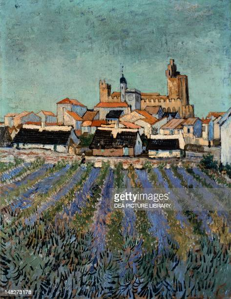Saintes Maries de la Mer, by Vincent van Gogh . ; Otterlo, Rijksmuseum Kroller-Muller.