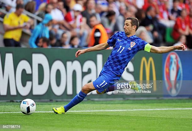 SaintEtienne Football UEFA Euro 2016 group D game between Czech Republic and Croatia Norbert Barczyk / PressFocus/MB Media