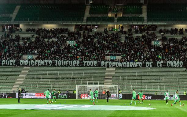 FRA: AS Saint-Etienne v Angers SCO - Ligue 1 Uber Eats