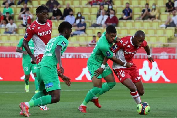 MCO: AS Monaco v AS Saint-Etienne - Ligue 1 Uber Eats